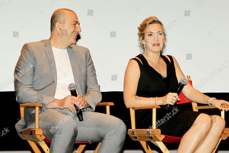 Stock Picture of Hany Abu-Assad, Kate Winslet