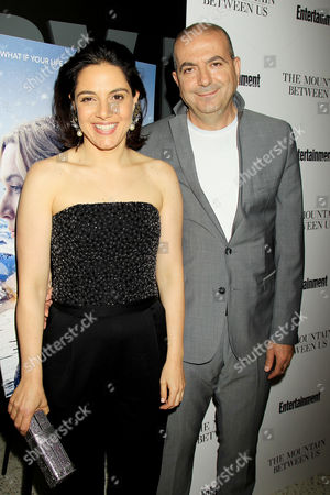 Hany Abu-Assad with Wife