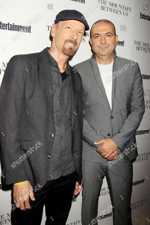 Lee Percy and Hany Abu-Assad