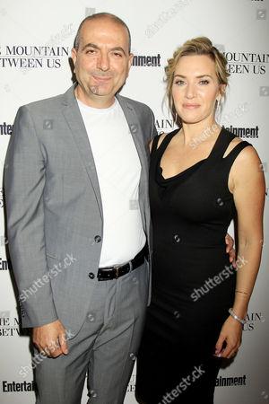 Stock Image of Hany Abu-Assad, Kate Winslet