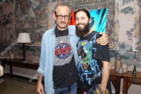 Stock Picture of Terry Richardson, Jared Leto