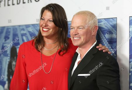 "Ruve McDonough, Neal McDonough. Ruve McDonough, left, and Neal McDonough arrive at the Los Angeles premiere of ""Spielberg"" at Paramount Studios on"