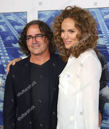 "Brad Silberling, Amy Brenneman. Brad Silberling, left, and Amy Brenneman arrive at the Los Angeles premiere of ""Spielberg"" at Paramount Studios on"