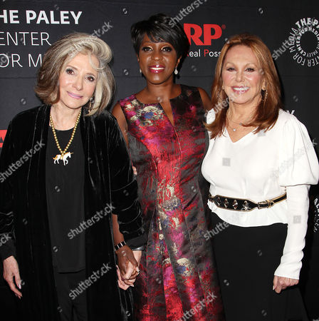 Sheila Nevins, Cheryl Wills and Marlo Thomas