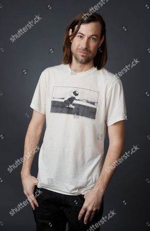 """Jody Hill, executive producer and co-creator of the HBO series """"Vice Principals,"""" poses for a portrait during the 2016 Television Critics Association Summer Press Tour at the Beverly Hilton, in Beverly Hills, Calif"""
