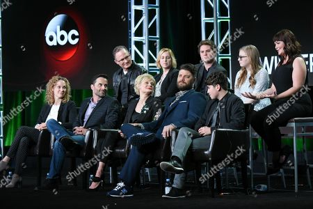 Editorial picture of 2016 Winter TCA - ABC, Pasadena, USA