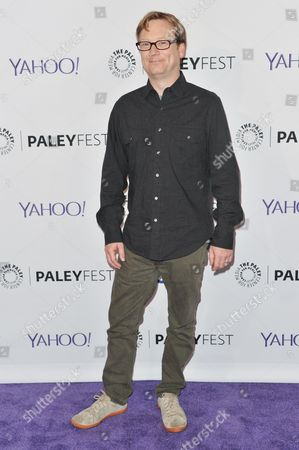 "Andy Daly arrives at the 32nd Annual Paleyfest : ""A Salute to Comedy Central"" held at the The Dolby Theatre, in Los Angeles"