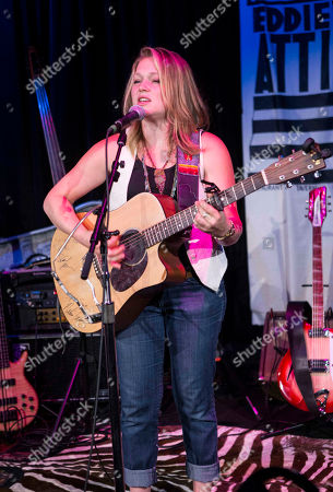 Stock Picture of Crystal Bowersox performs at Eddie's Attic, in Atlanta