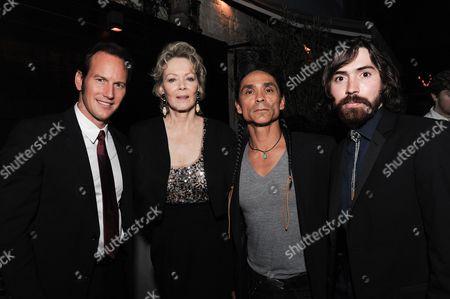 """Actors Patrick Wilson, Jean Smart, Zahn McClarnon and Allan Dobrescu attend the after-party for the LA Premiere of """"Fargo"""" Season two, in Los Angeles"""