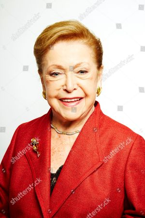 """Stock Picture of Mary Higgins Clark poses for a portrait in promotion of her upcoming holiday mystery, """"Santa Cruise,"""" on in New York"""