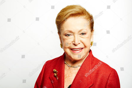 """Mary Higgins Clark poses for a portrait in promotion of her upcoming holiday mystery, """"Santa Cruise,"""" on in New York"""