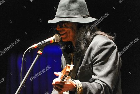 Singer-songwriter Sixto Rodriguez performs at the Beacon Theatre on in New York