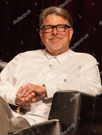 Actor Jonathan Frakes during the Star Trek: The Next Generation Reunion Event at the Rosemont Theatre in Rosemont, IL on