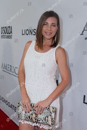 Shari Rigby seen at the World Premiere of 'America: Imagine The World Without Her' at Regal Cinemas LA Live, in Los Angeles, CA