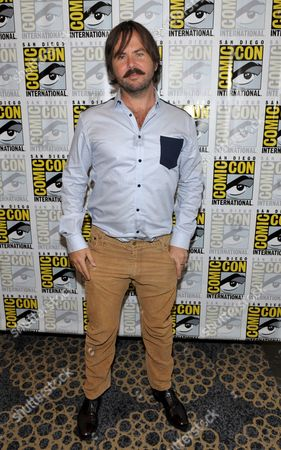 """Jason Gann attends the FX """"Wilfred"""" press room on Day 2 of Comic-Con International on in San Diego, Calif"""