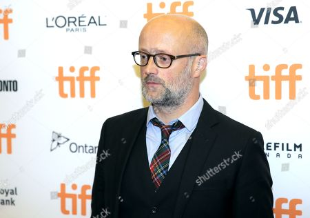 Stock Image of Writer David Harrower attends the â?oeUnaâ?? premiere on day 7 of the Toronto International Film Festival at the Princess of Wales Theatre, in Toronto