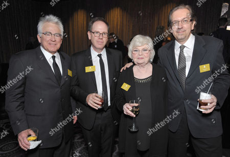 Ron Yerxa and Albert Berger, actress June Squibb From left, Ron Yerxa, Albert Berger, June Squibb and screenwriter Bob Nelson attend the 86th Oscars Nominees Luncheon, on in Beverly Hills, Calif