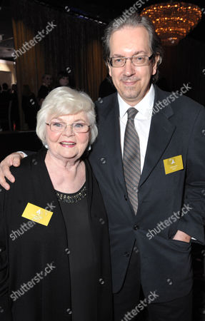 June Squibb and Bob Nelson attend the 86th Oscars Nominees Luncheon, on in Beverly Hills, Calif