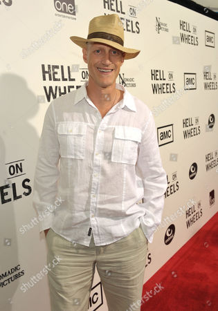 "Christopher Heyerdahl attends a special screening of the second season premiere of AMC's ""Hell on Wheels"" on in Beverly Hills, Calif"