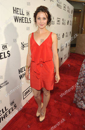"Editorial picture of AMC's ""Hell on Wheels"" Season Two Screening, Beverly Hills, USA"