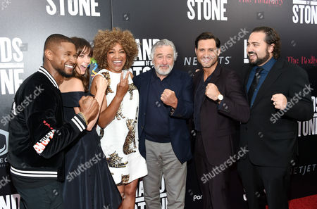 """Editorial picture of APTOPIX NY Premiere of """"Hands of Stone"""", New York, USA"""