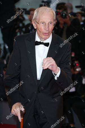 Stock Picture of Heinz Lieven poses for photographers upon arrival for the film, Remember, at the 72nd edition of the Venice Film Festival in Venice, Italy, . The 72nd edition of the festival runs until Sept. 12