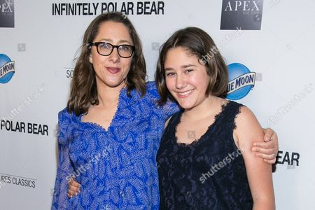 """Director Maya Forbes, left, and actress Imogene Wolodarsky attends the after party for the Los Angeles Premiere of """"Infinitely Polar Bear"""" held at Regal Cinemas L.A. LIVE, in Los Angeles"""