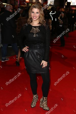 Fia tarrant at the World premiere of Gambit at the Empire Leicester Square in London, UK