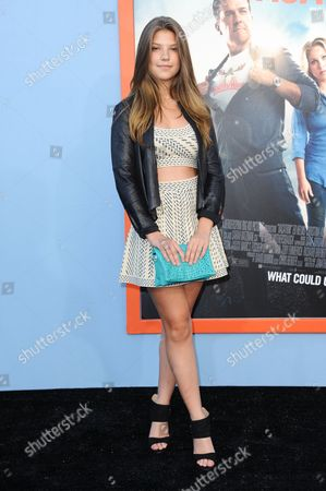 """Catherine Missal arrives at the LA premiere of """"Vacation"""" held at the Regency Village Theatre on in Los Angeles"""