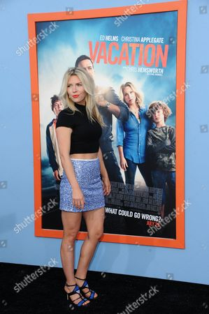 """Kirstin Ford arrives at the LA premiere of """"Vacation"""" held at the Regency Village Theatre on in Los Angeles"""