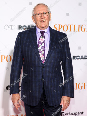 """Stock Picture of Len Cariou attends the premiere of """"Spotlight"""" at the Ziegfeld Theatre, in New York"""