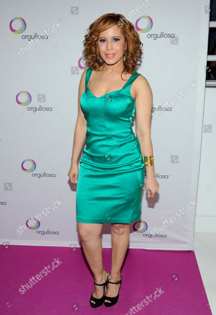 Editorial image of P&G Orgullosa Fashion Show Arrivals, New York, USA