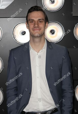 """Cooper Hefner is seen at """"Playboy Magazine Super Bowl Party"""" on in New York"""