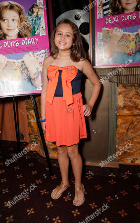 """Stock Picture of Mary-Charles Jones attends the red carpet at the premiere of """"Dear Dumb Diary"""" at the Crest Theater on in Los Angeles"""