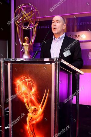 Governor Terence Winter is seen at the Television Academy's 2016 Emmy Awards Writer's Nominee Reception at The Television Academy's Wolf Theatre on in North Hollywood, California
