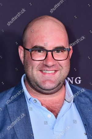 Stock Photo of Charlie Sanders is seen at the Television Academy's 2016 Emmy Awards Writer's Nominee Reception at The Television Academy's Wolf Theatre on in North Hollywood, California