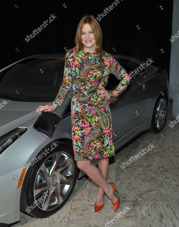 """Nicholle Tom celebrates design and style with Cadillac's ELR at Who What Wear + Cadillac """"Style Driven: 50 Most Stylish"""" with host Nicole Richie at The London West Hollywood hotel, in West Hollywood, Calif"""
