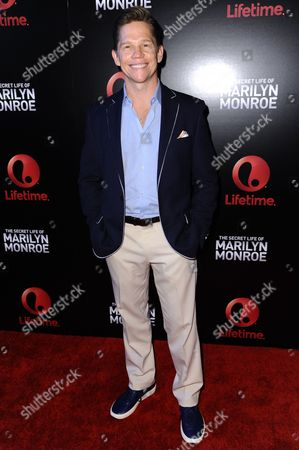 """Jack Noseworthy arrives at the World Premiere of """"The Secret Life of Marilyn Monroe"""" held at The Theatre at Ace Hotel, in Los Angeles"""
