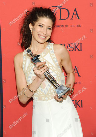 Designer Pamela Love attends the 2013 CFDA Fashion Awards at Alice Tully Hall on in New York