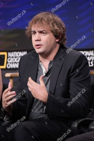 """Stock Photo of Kyle S. More participates in the """"Killing Reagan"""" panel during the National Geographic Television Critics Association summer press tour, in Beverly Hills, Calif"""