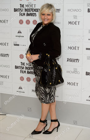 Camille Coduri arrives for the British Independent Film Awards Nominations at a central London venue, London