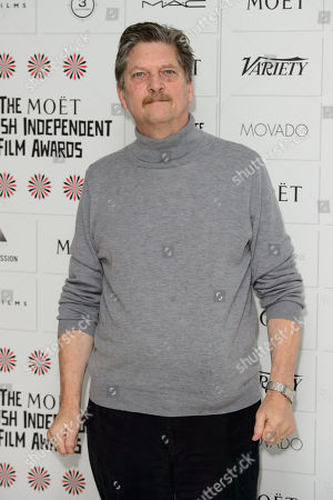 Stock Photo of Andre Singer arrives for the British Independent Film Awards Nominations at a central London venue, London