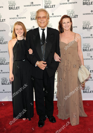Peter Martins and family attend the New York City Ballet Spring Gala at Lincoln Center on in New York