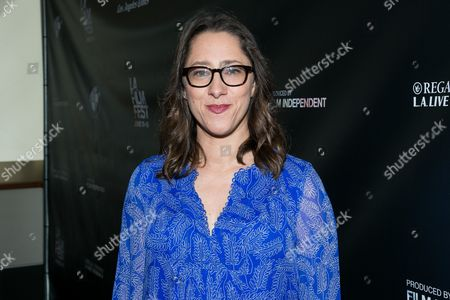 """Director Maya Forbes attends the Los Angeles Premiere of """"Infinitely Polar Bear"""" held at Regal Cinemas L.A. LIVE, in Los Angeles"""