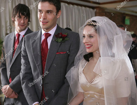 'Talk to Me'   TV Pictured:  L-R   Scott, the Bestman [Adrian Bower], Woody [Joseph Millson] and Claire [Laura Fraser].  Woody Unveils His Beautiful Bride.