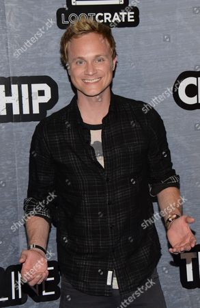 David Anders seen at The Last Ship Storm Comic-Con by Sea on Day 2 of Comic-Con International at USS Midway, in San Diego, CA