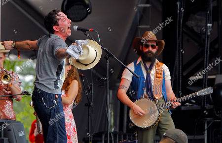 Andrew Heissler of Pokey LaFarge performs at the Bonnaroo Music and Arts Festival on in Manchester, Tenn