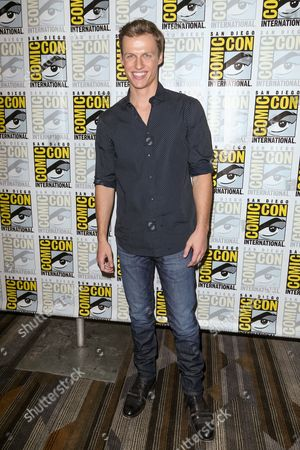 """Connor Weil attends the """"Scream"""" press line on day 2 of Comic-Con International, in San Diego"""