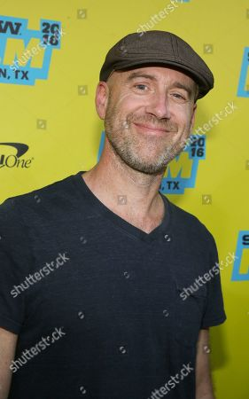 "Stock Image of Sam Catlin is seen at the world premiere of the series ""Preacher"" at the Paramount Theatre during the South by Southwest Film Festival, in Austin, Texas"