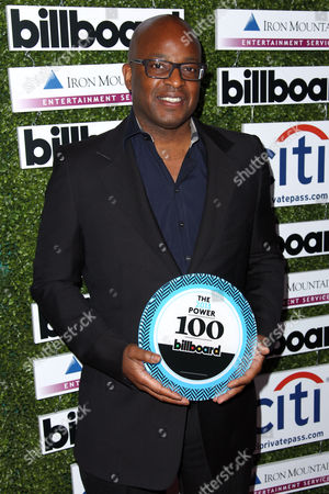 Frank Cooper arrives at Billboard's 2013 Power 100 List event at The Redbury on in Los Angeles